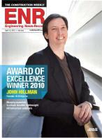 John Hillman, Inventor of Hybrid-Composite Beam for Bridge Construction, Delivers 2011 Vecellio Lecture