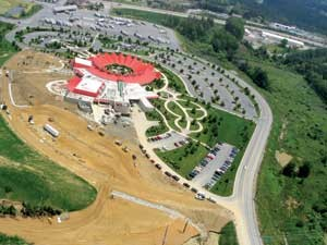V&G performed site development work for the expansion of West Virginia's Caperton Center,